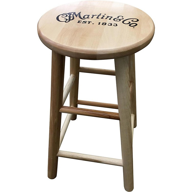 MartinWooden Ash Logo Bar Stool24 in.