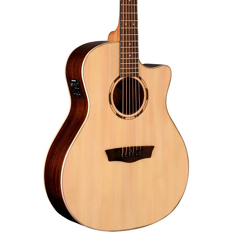 WashburnWoodline Series WLO20SCE Acoustic-Electric Cutaway Orchestra GuitarNatural