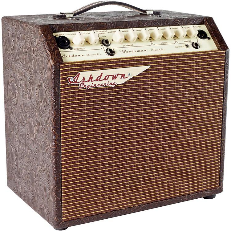 AshdownWoodsman Classic 40W 2 Channel 1x8 Acoustic Guitar Combo Amp w/ Reverb