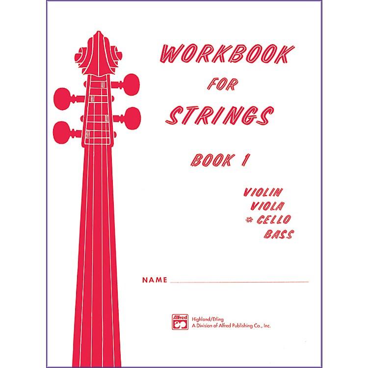 AlfredWorkbook for Strings Book 1 Cello