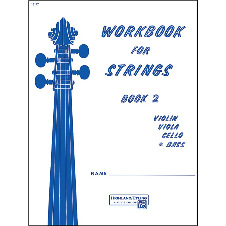 AlfredWorkbook for Strings Book 2 Bass