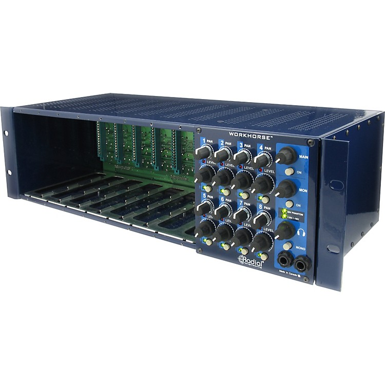 Radial EngineeringWorkhorse 500 Series Rack and Mixer