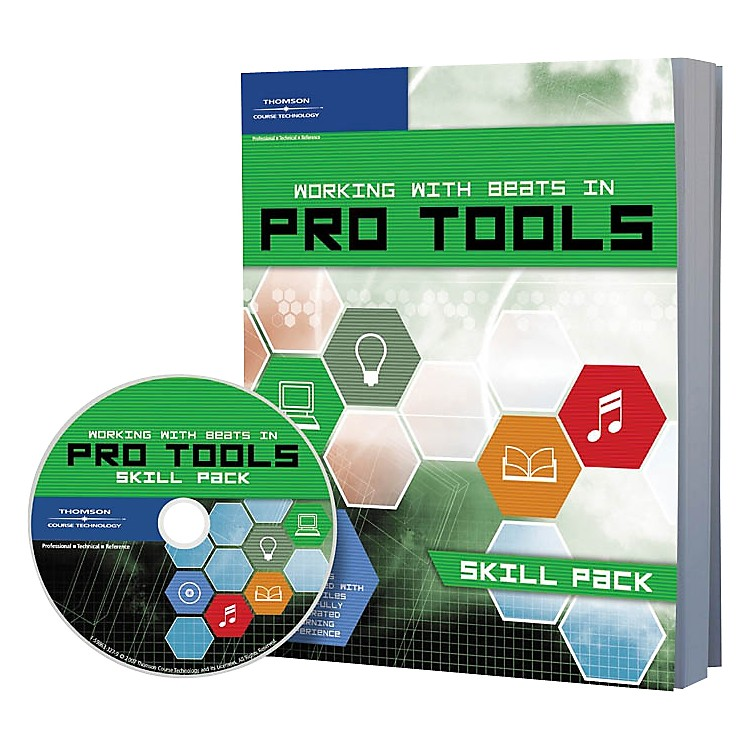 Cengage Learning Working With Beats In Pro Tools: Skill Pack Book and CD