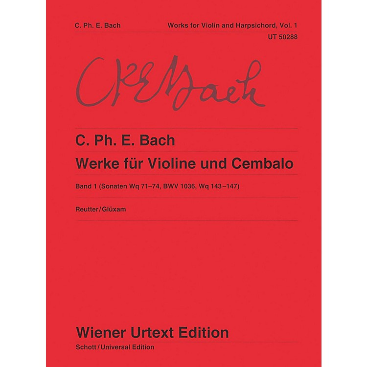 Carl FischerWorks for Violin and Harpsichord Book 1