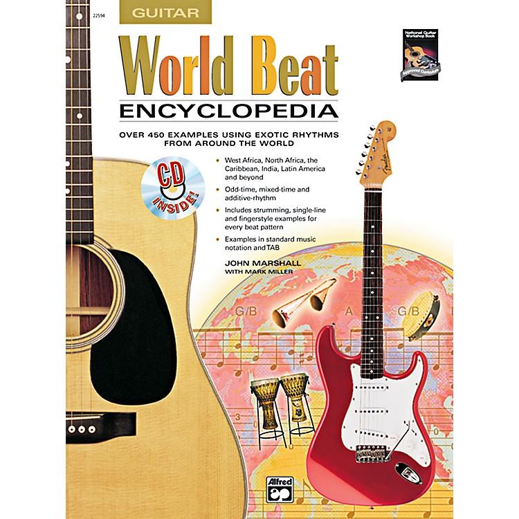 AlfredWorld Beat Encyclopedia Book & CD