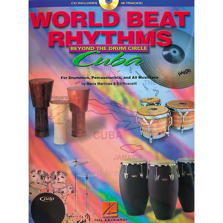 Hal Leonard World Beat Rhythms Beyond The Drum Circle - Cuba (Book/CD)