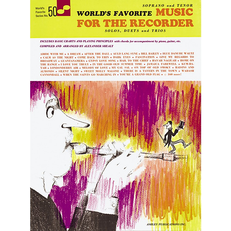 Music SalesWorld's Favorite Music for the Recorder