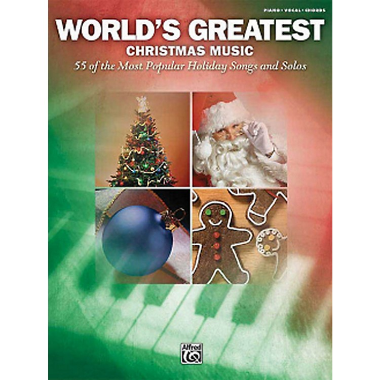 Hal LeonardWorld's Greatest Christmas Music 55 Most Popular Holiday Songs For Piano/Vocal/Guitar