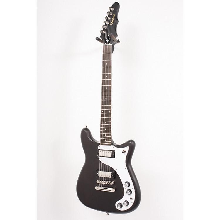 EpiphoneWorn '66 Wilshire Electric GuitarWorn Black886830630590