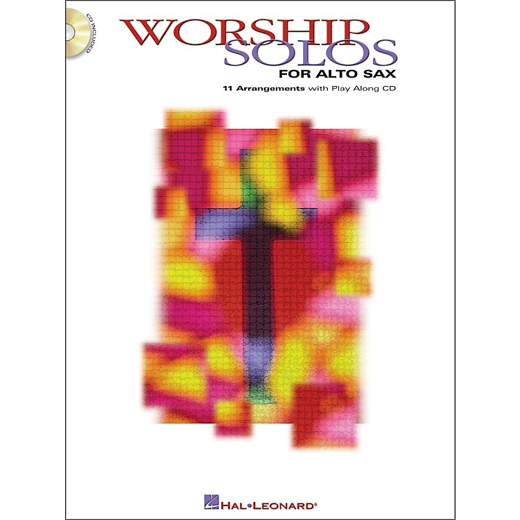 Hal Leonard Worship Solos for Alto Sax Book/CD