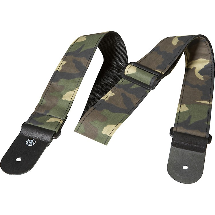 Planet Waves Woven Camouflage Guitar Strap Camouflage