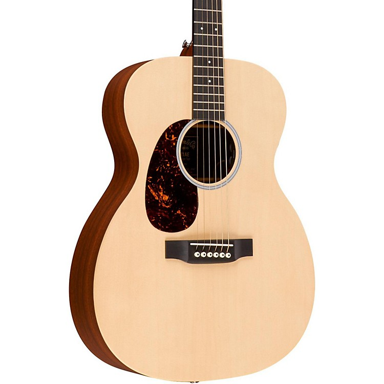 Martin X Series 2016 000XAE-L Auditorium Left-Handed Acoustic-Electric Guitar Natural