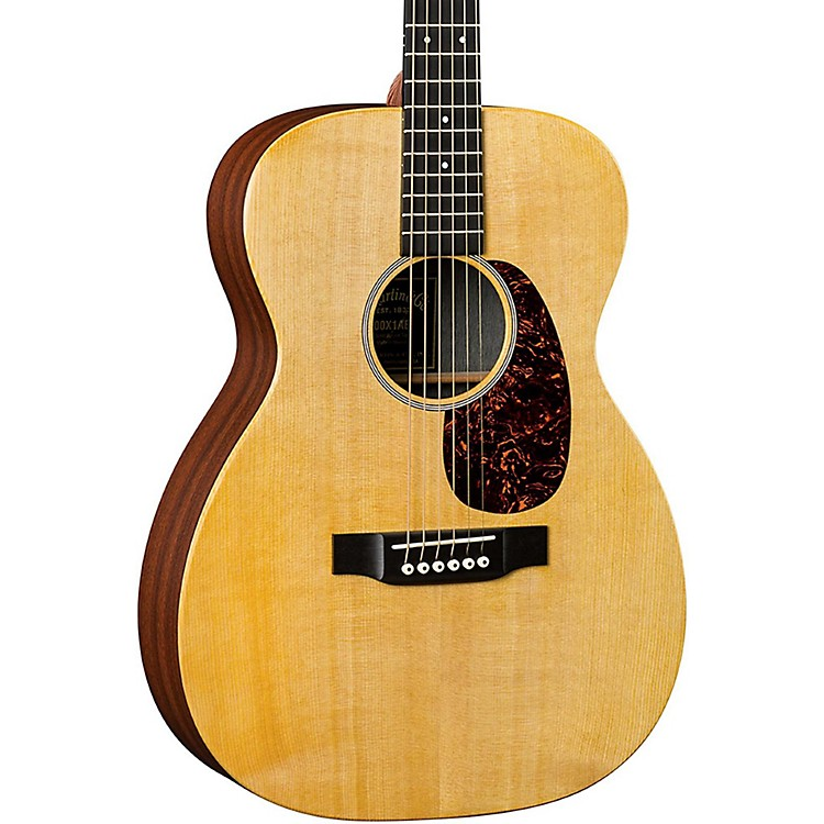 Martin X Series 2016 00X1AE Grand Concert Acoustic-Electric Guitar Natural
