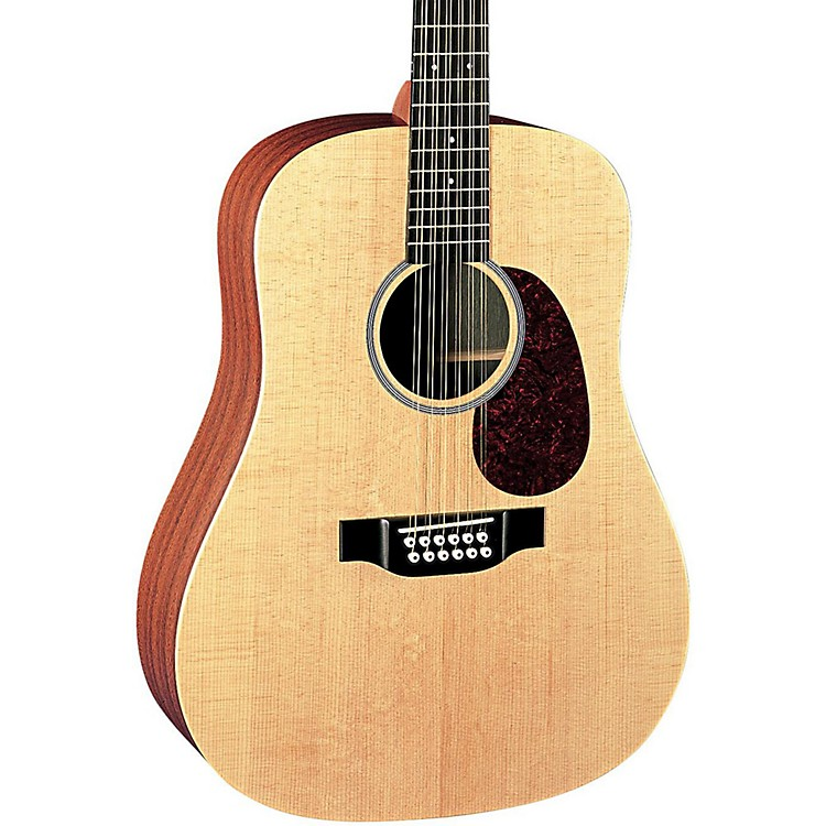 MartinX Series 2016 D12X1AE Dreadnought 12-String Acoustic-ElectricNatural