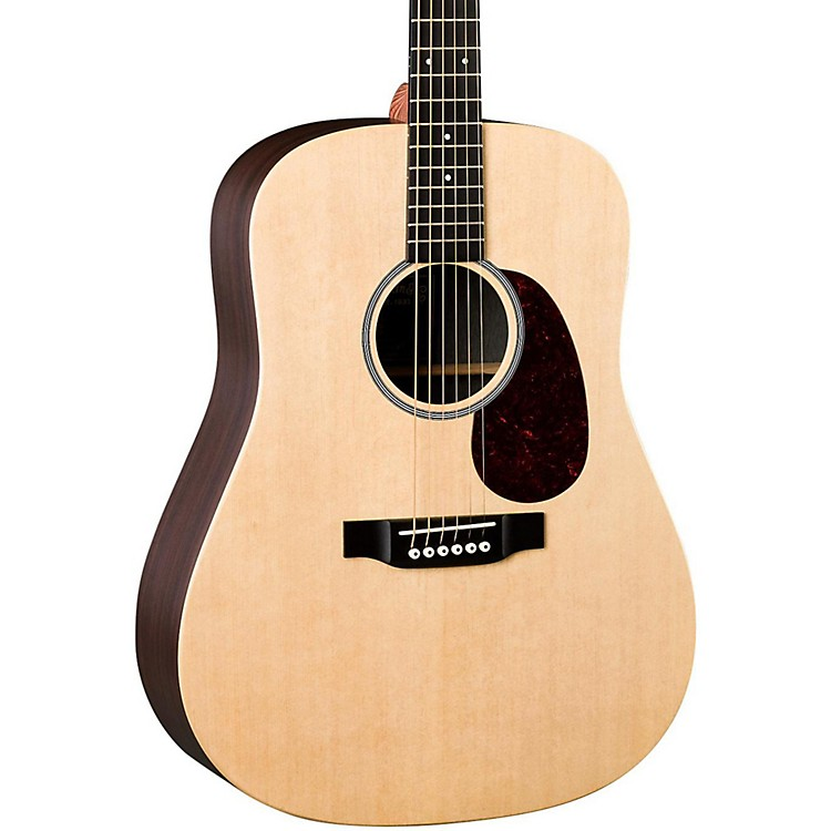 Martin X Series 2016 DX1RAE Dreadnought Acoustic-Electric Guitar Natural