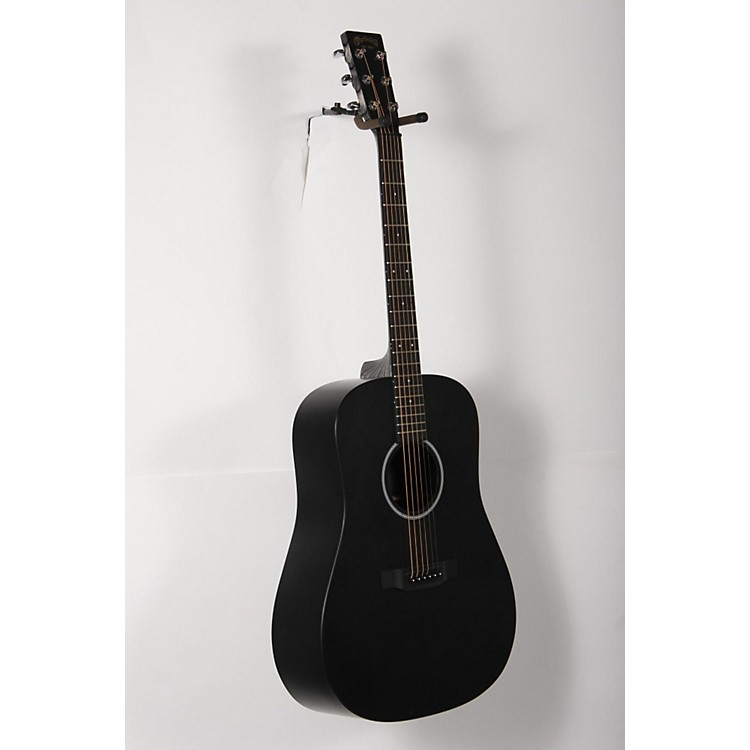 Martin X Series 2016 DXAE Dreadnought Acoustic-Electric Guitar Black 888365908410