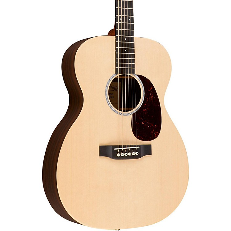 Martin X Series Custom 000X1AE Rosewood HPL Auditorium Acoustic-Electric Guitar Natural