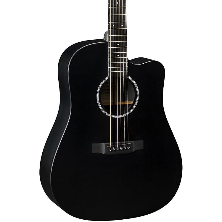 MartinX Series DCXAE Dreadnought Acoustic-Electric GuitarBlack