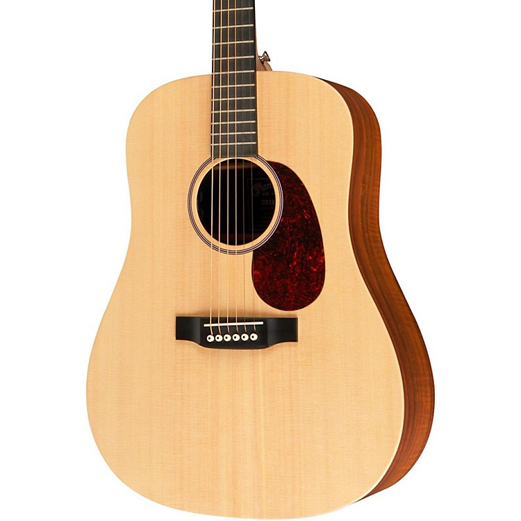 Martin X Series DX1KAE Acoustic-Electric Guitar Natural