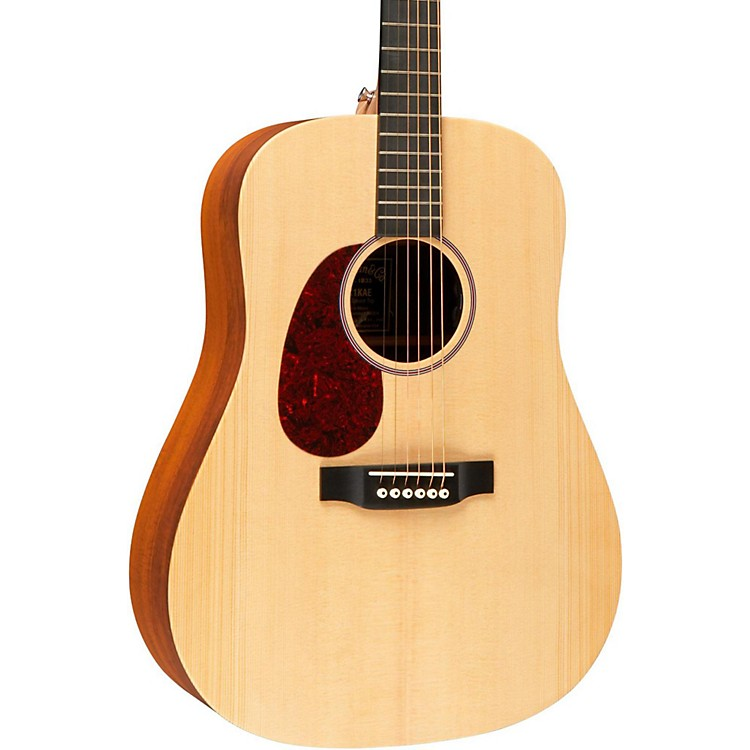 Martin X Series DX1KAE Left-Handed Dreadnought Acoustic-Electric Guitar Natural