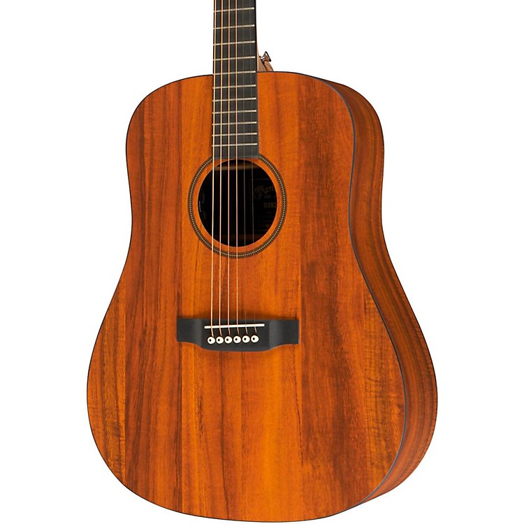 Martin X Series DXK2AE Acoustic-Electric Guitar Natural
