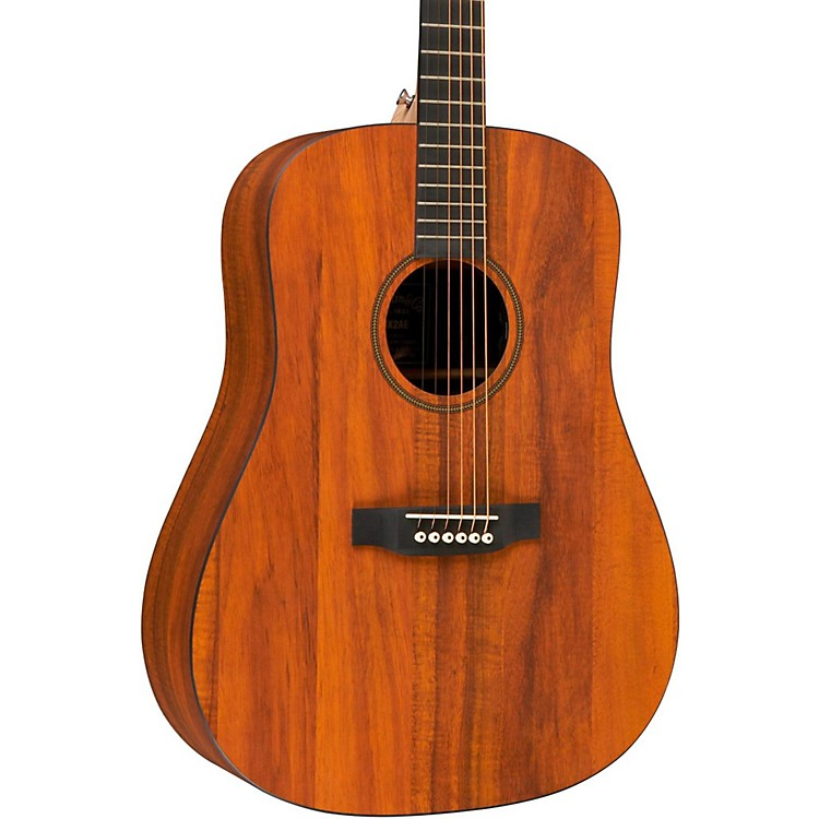 martin x series dxk2ae dreadnought left handed acoustic electric guitar natural music123. Black Bedroom Furniture Sets. Home Design Ideas