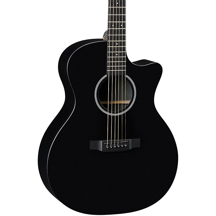 Martin X Series GPCXAE Grand Performance Acoustic-Electric Guitar Black