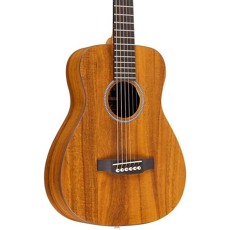 MartinX Series LX Koa Little Martin Acoustic GuitarNatural
