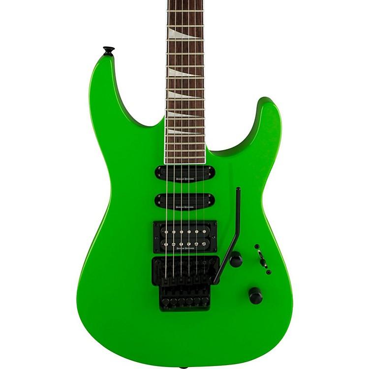 JacksonX Series Soloist SL3X Electric GuitarSlime GreenRosewood Fingerboard