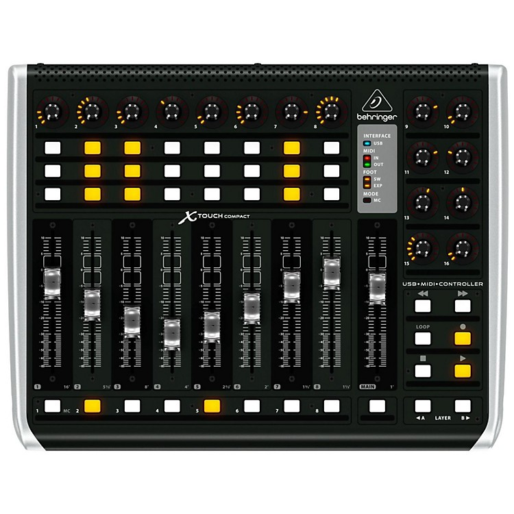 BehringerX-TOUCH COMPACT Universal Control Surface