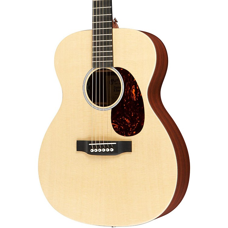 MartinX1-000E Custom Auditorium Acoustic-Electric Solid Spruce Top HPL Back & SidesNaturalSolid Sitka Spruce Top