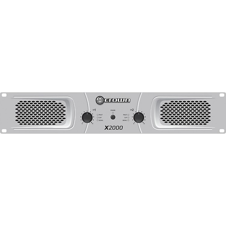 CrownX2000 Stereo 2x450W Power Amp