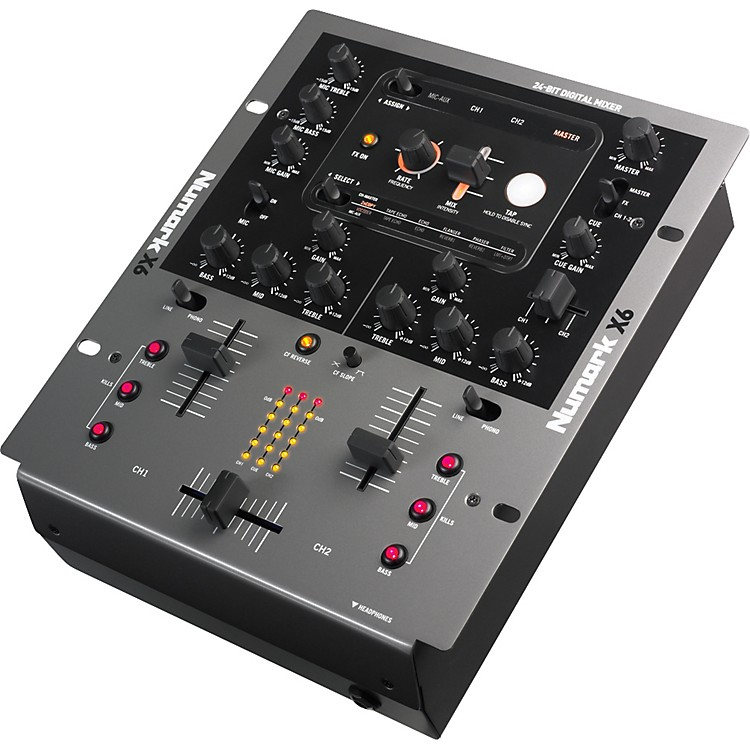 Numark X6 DJ Mixer with Effects