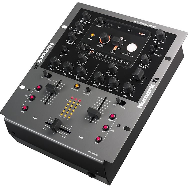 NumarkX6 DJ Mixer with Effects