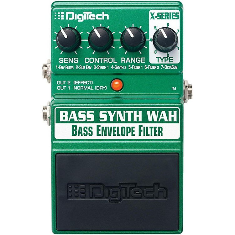 DigiTechXBW Bass Synth Wah Effects Pedal