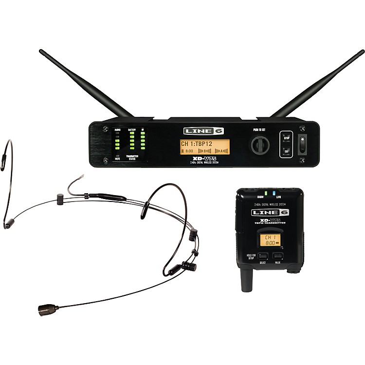 Line 6XD-V75HS Professional Digital Wireless Headset SystemTan