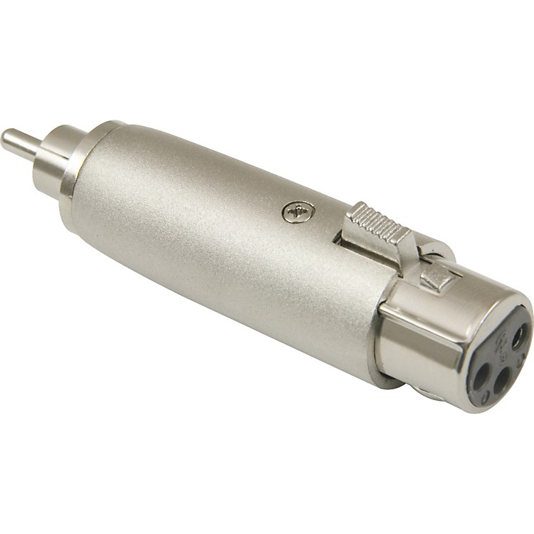 American Recorder Technologies XLR Female to RCA Male Adapter Nickel