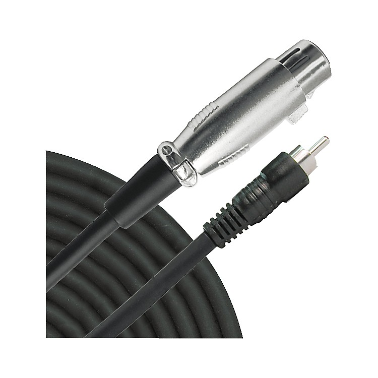 Live Wire XLR(F)-RCA Audio Cable
