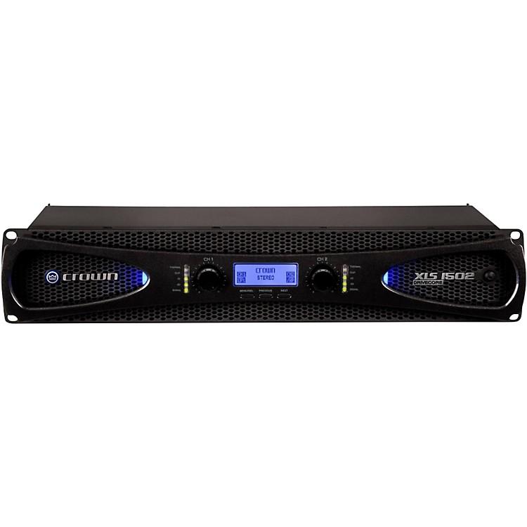 CrownXLS1502 2-Channel 525W Power Amplifier with Onboard DSP