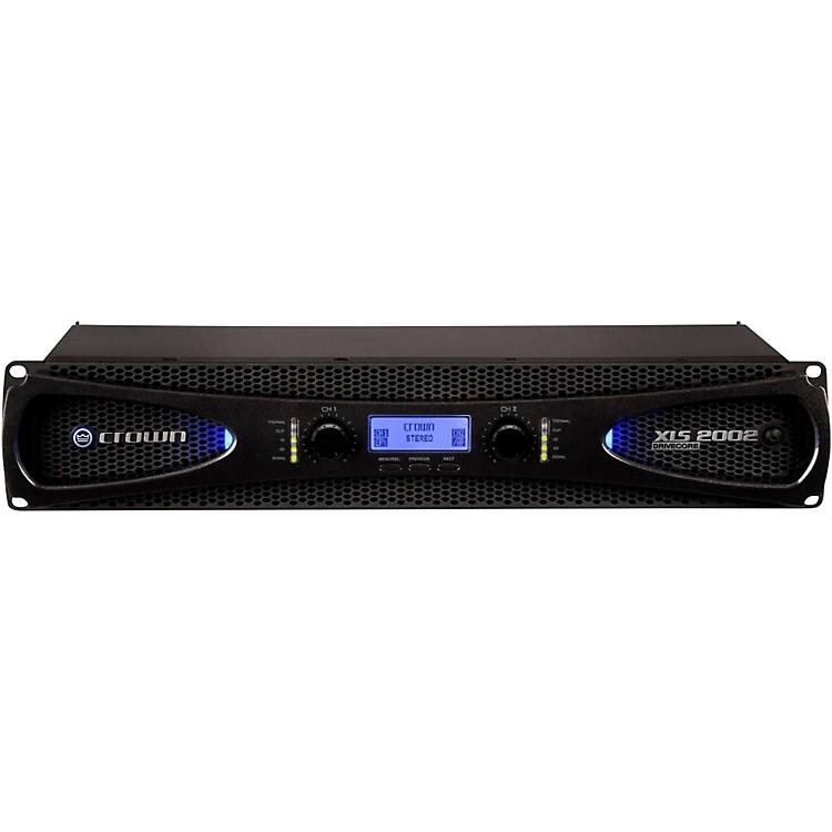 CrownXLS2002 2-Channel 650W Power Amplifier with Onboard DSP