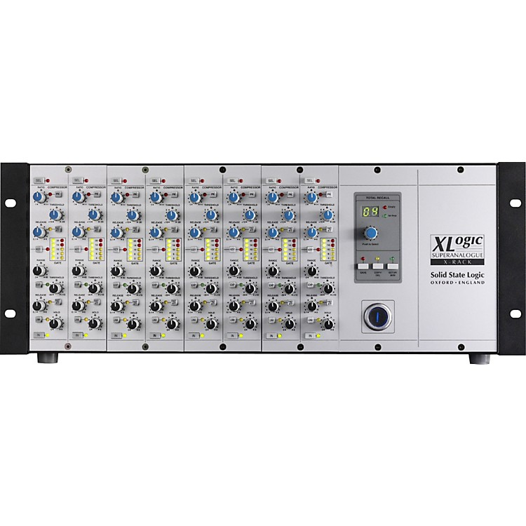 Solid State LogicXLogic X-Rack Fitted With 8 Dynamics Modules