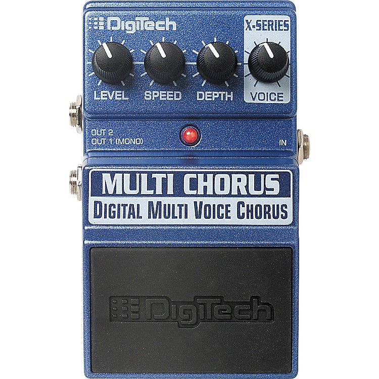 DigiTech XMC Multi Chorus Digital Multi Voice Chorus Pedal