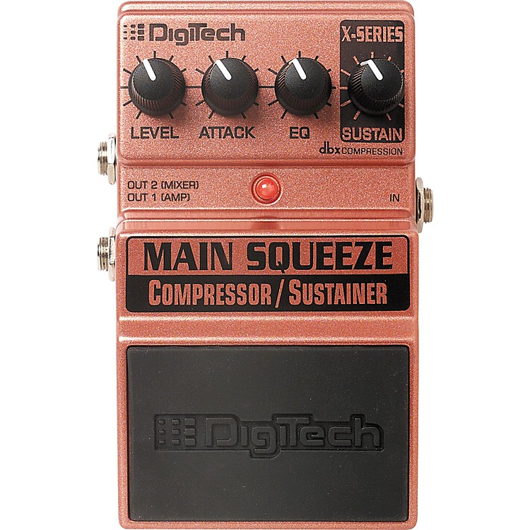 DigiTech XMS Main Squeeze Compressor/Sustainer Pedal