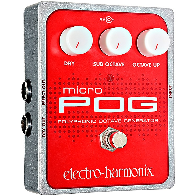 Electro-Harmonix XO Micro POG Polyphonic Octave Generator Guitar Effects Pedal
