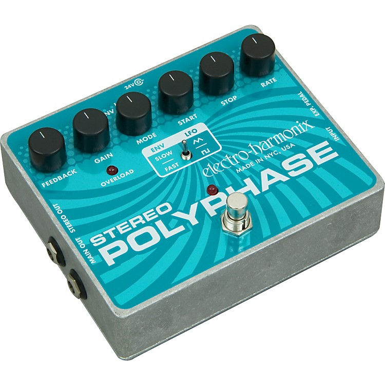 Electro-HarmonixXO Stereo Polyphase Guitar Effects Pedal