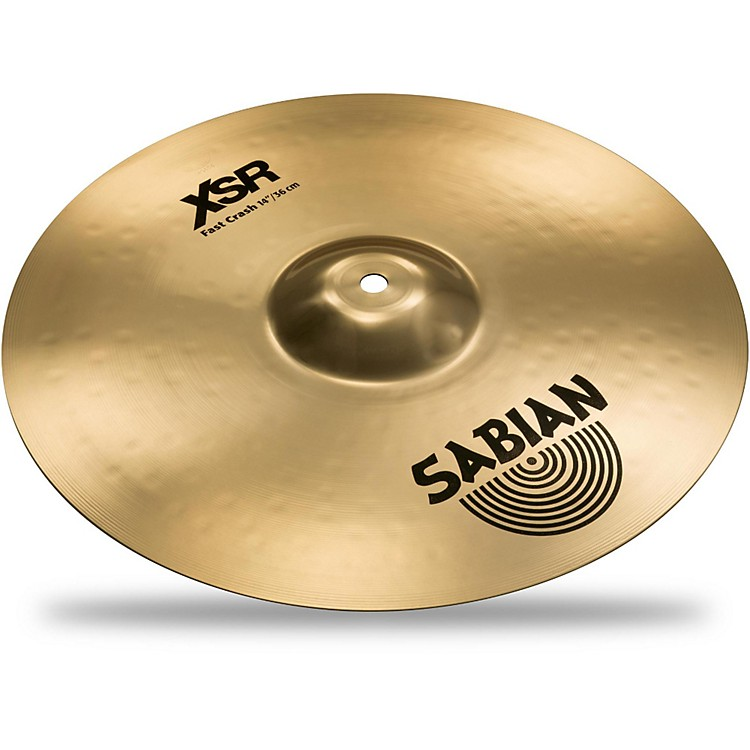Sabian XSR Series Fast Crash Cymbal 14 in.