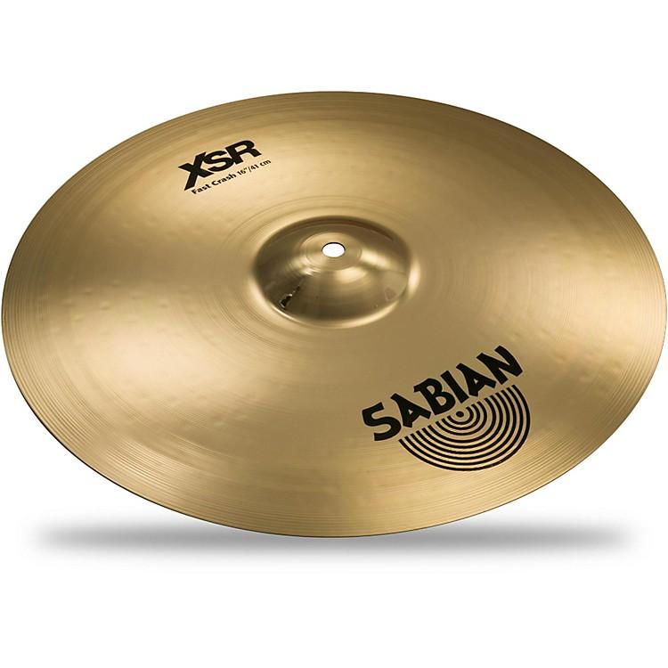 SabianXSR Series Fast Crash Cymbal16 in.