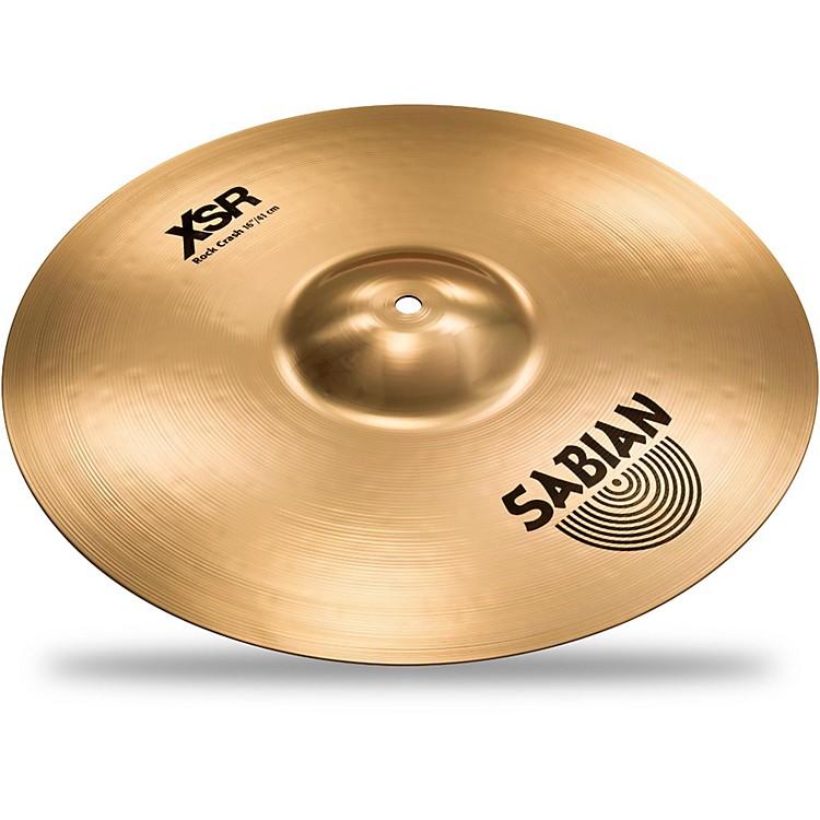 SabianXSR Series Rock Crash Cymbal16 in.