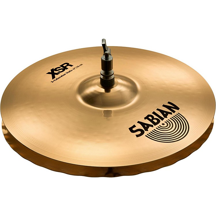 Sabian XSR Series X-Celerator Hi-Hats 14 in.