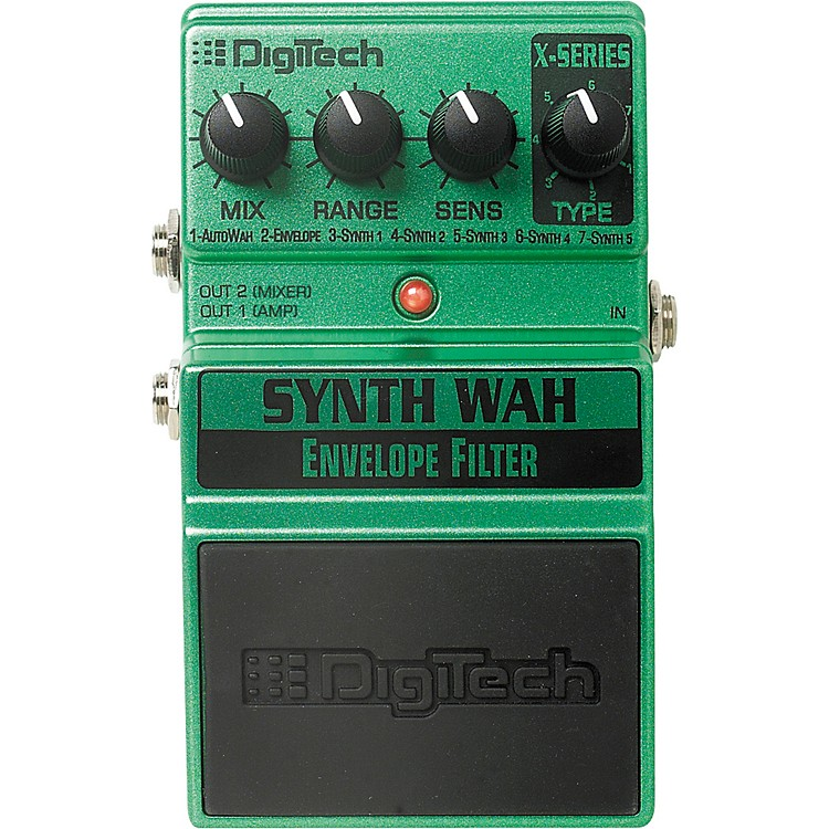 DigiTechXSW Synth Wah Envelope Filter Pedal